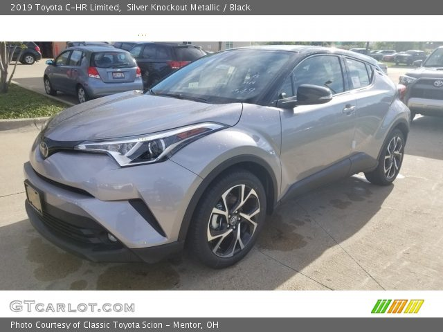 2019 Toyota C-HR Limited in Silver Knockout Metallic