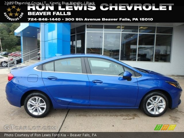 2019 Chevrolet Cruze LT in Kinetic Blue Metallic