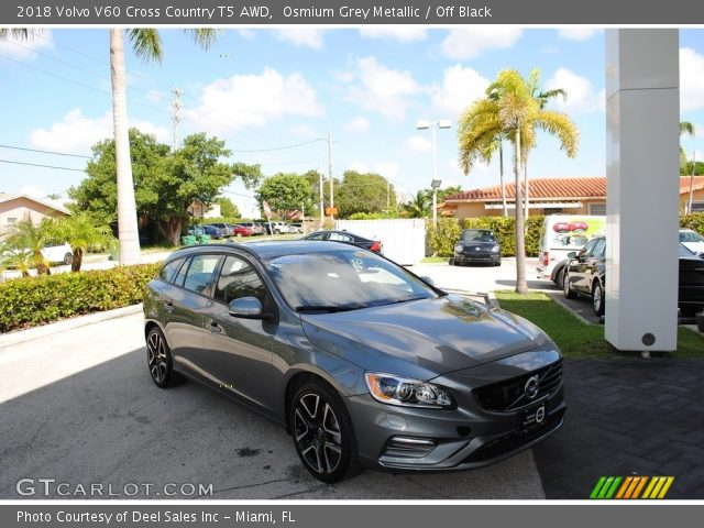 2018 Volvo V60 Cross Country T5 AWD in Osmium Grey Metallic