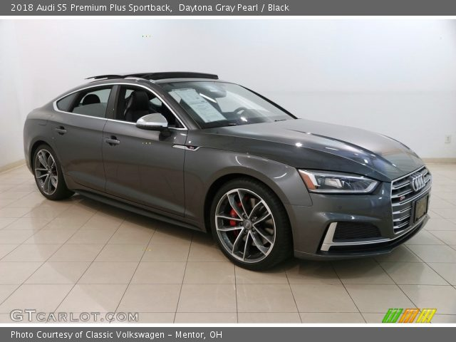 2018 Audi S5 Premium Plus Sportback in Daytona Gray Pearl