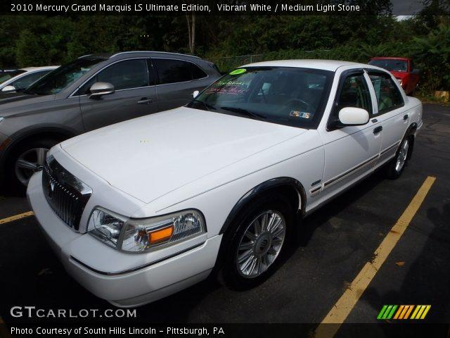 2010 Mercury Grand Marquis LS Ultimate Edition in Vibrant White