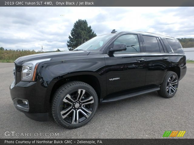 2019 GMC Yukon SLT 4WD in Onyx Black