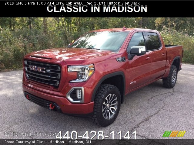 2019 GMC Sierra 1500 AT4 Crew Cab 4WD in Red Quartz Tintcoat