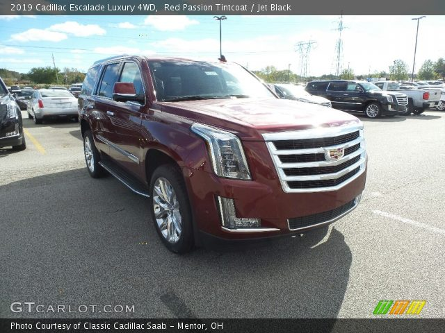 2019 Cadillac Escalade Luxury 4WD in Red Passion Tintcoat