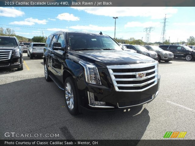2019 Cadillac Escalade Luxury 4WD in Black Raven
