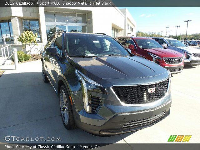 2019 Cadillac XT4 Sport AWD in Shadow Metallic