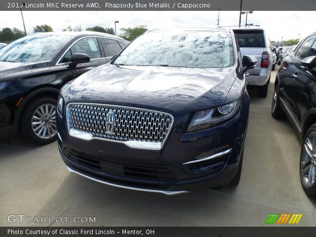 2019 Lincoln MKC Reserve AWD in Rhapsody Blue Metallic