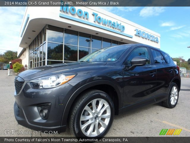 2014 Mazda CX-5 Grand Touring AWD in Meteor Gray Mica