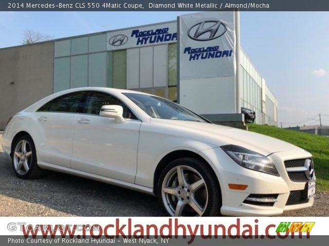 2014 Mercedes-Benz CLS 550 4Matic Coupe in Diamond White Metallic