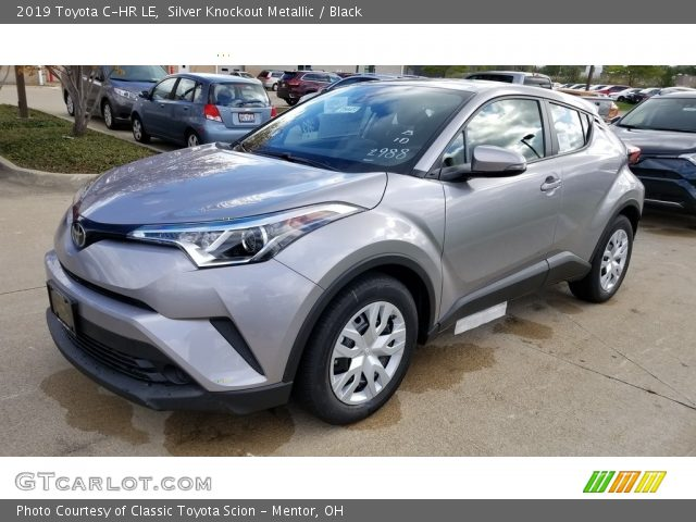 2019 Toyota C-HR LE in Silver Knockout Metallic