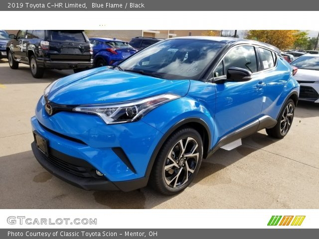 2019 Toyota C-HR Limited in Blue Flame
