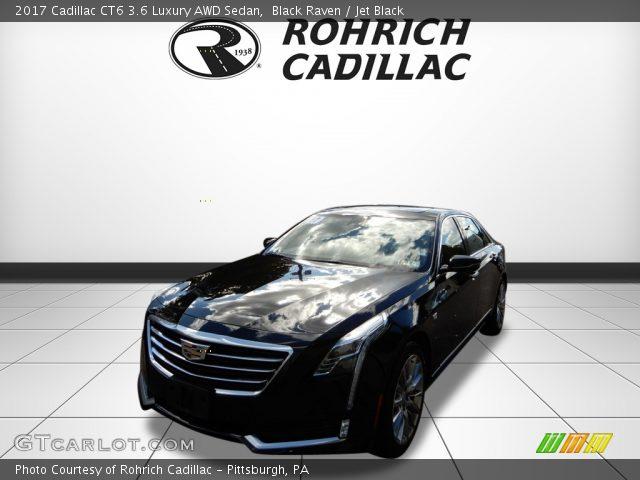 2017 Cadillac CT6 3.6 Luxury AWD Sedan in Black Raven