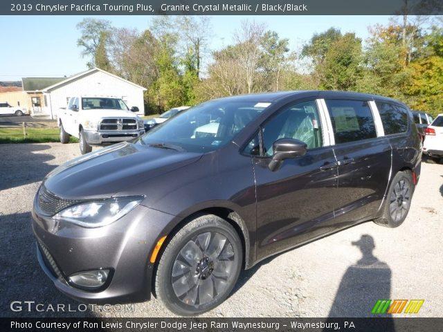 2019 Chrysler Pacifica Touring Plus in Granite Crystal Metallic