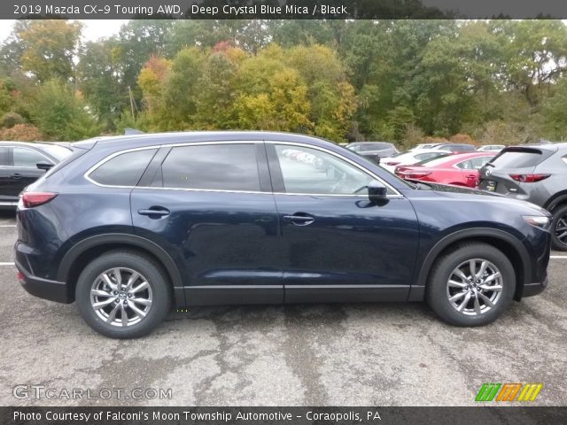 2019 Mazda CX-9 Touring AWD in Deep Crystal Blue Mica
