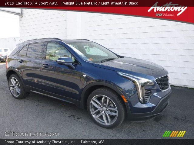 2019 Cadillac XT4 Sport AWD in Twilight Blue Metallic