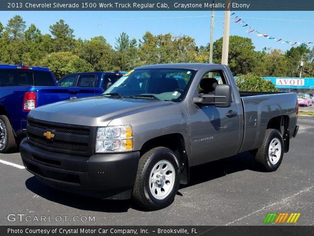 2013 Chevrolet Silverado 1500 Work Truck Regular Cab in Graystone Metallic