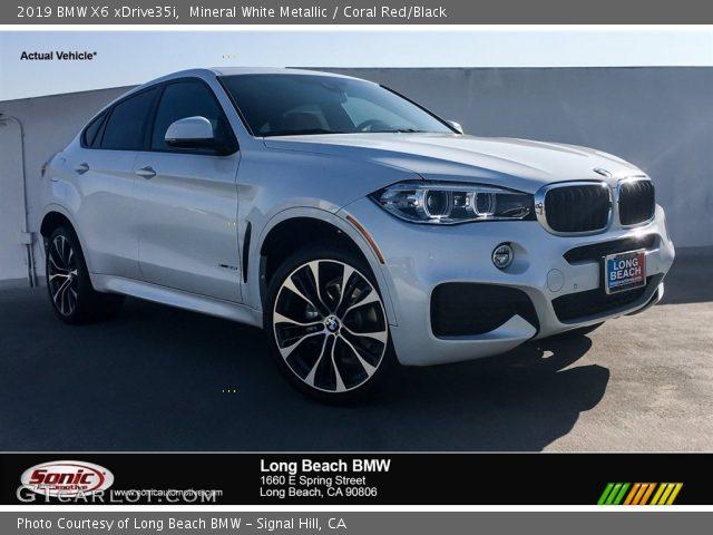 2019 BMW X6 xDrive35i in Mineral White Metallic
