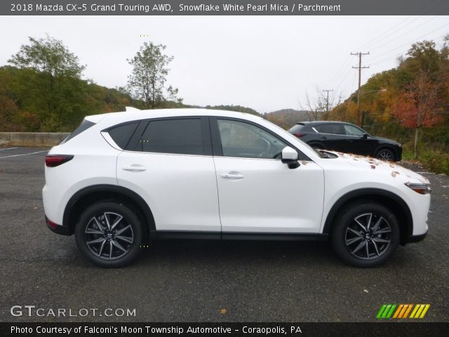 2018 Mazda CX-5 Grand Touring AWD in Snowflake White Pearl Mica