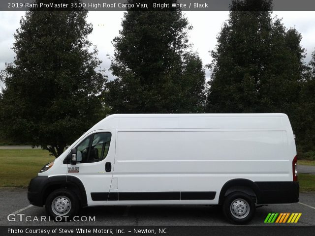 2019 Ram ProMaster 3500 High Roof Cargo Van in Bright White