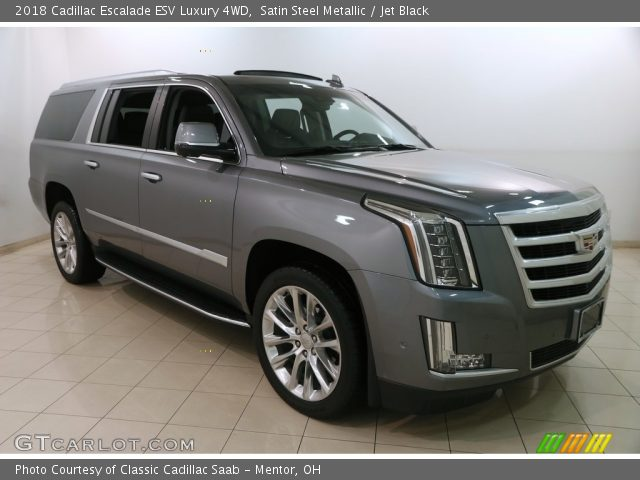 2018 Cadillac Escalade ESV Luxury 4WD in Satin Steel Metallic