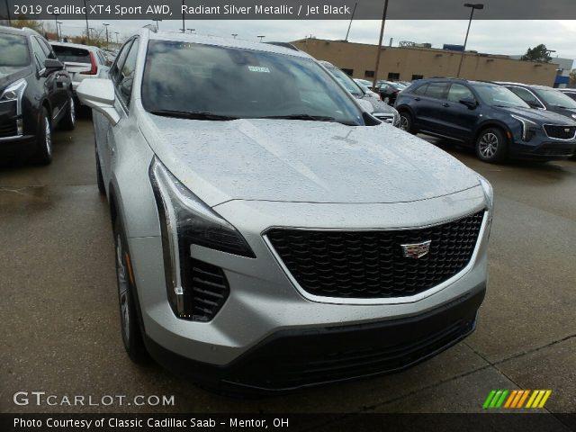 2019 Cadillac XT4 Sport AWD in Radiant Silver Metallic