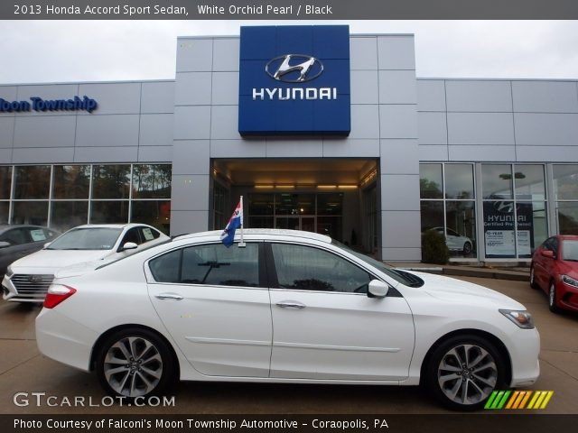 2013 Honda Accord Sport Sedan in White Orchid Pearl