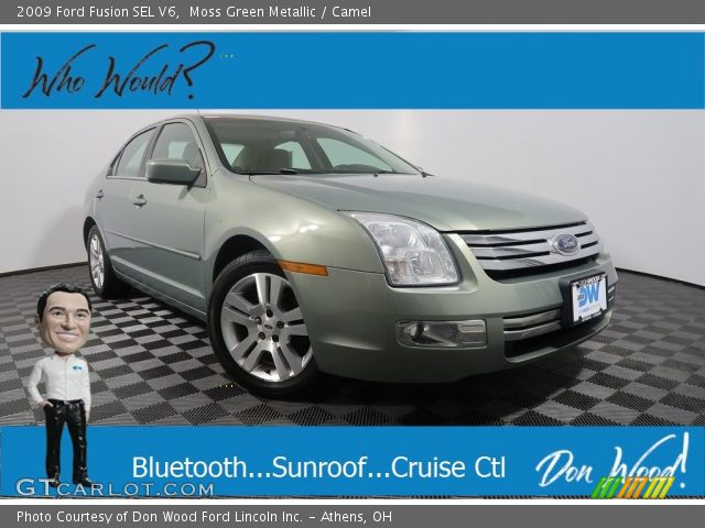 2009 Ford Fusion SEL V6 in Moss Green Metallic