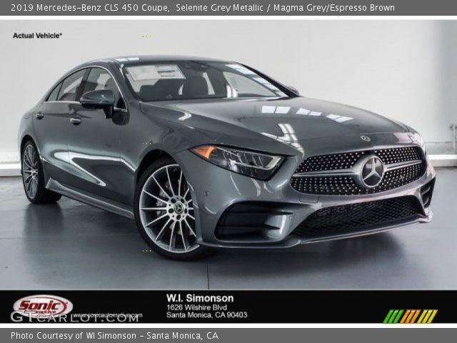 2019 Mercedes-Benz CLS 450 Coupe in Selenite Grey Metallic