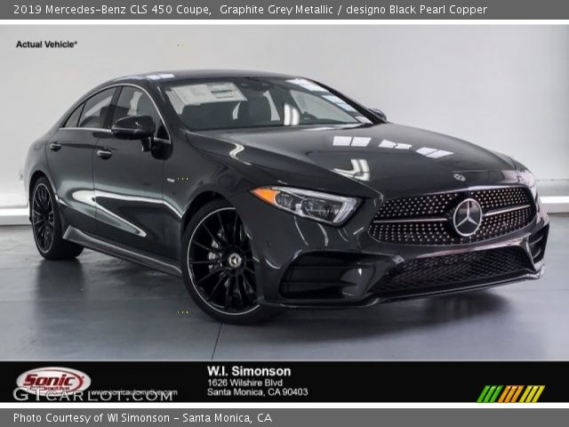 2019 Mercedes-Benz CLS 450 Coupe in Graphite Grey Metallic