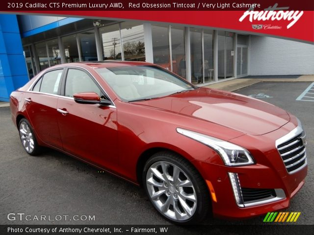 2019 Cadillac CTS Premium Luxury AWD in Red Obsession Tintcoat