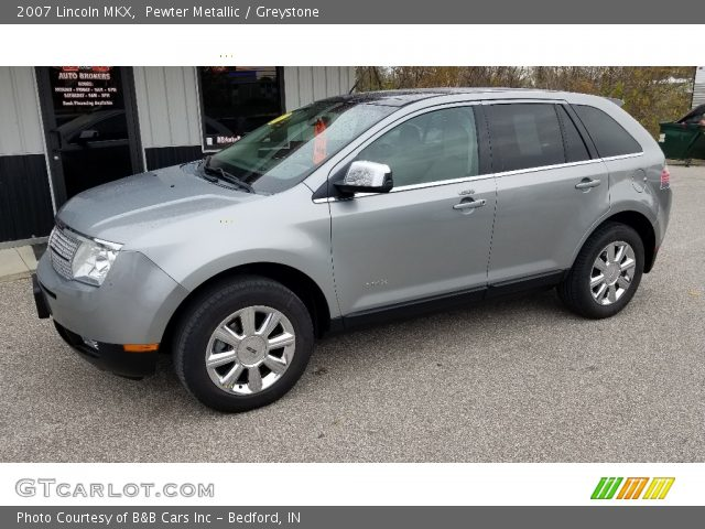 2007 Lincoln MKX  in Pewter Metallic