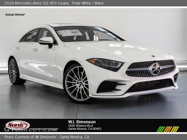 2019 Mercedes-Benz CLS 450 Coupe in Polar White