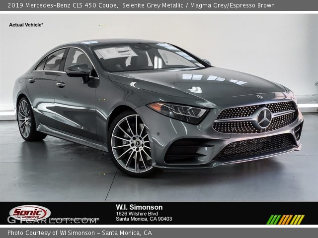 2019 Mercedes-Benz CLS 450 Coupe in Selenite Grey Metallic