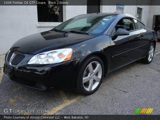 Black 2006 Pontiac G6 Gtp Coupe Ebony Interior Vehicle Archive 13001136