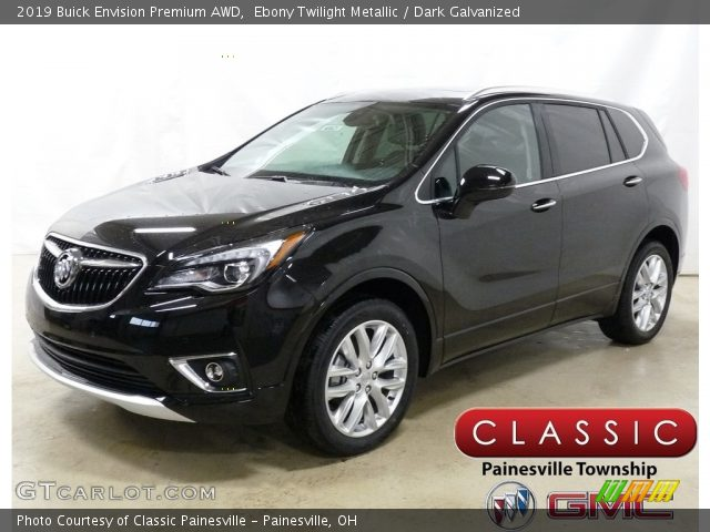2019 Buick Envision Premium AWD in Ebony Twilight Metallic