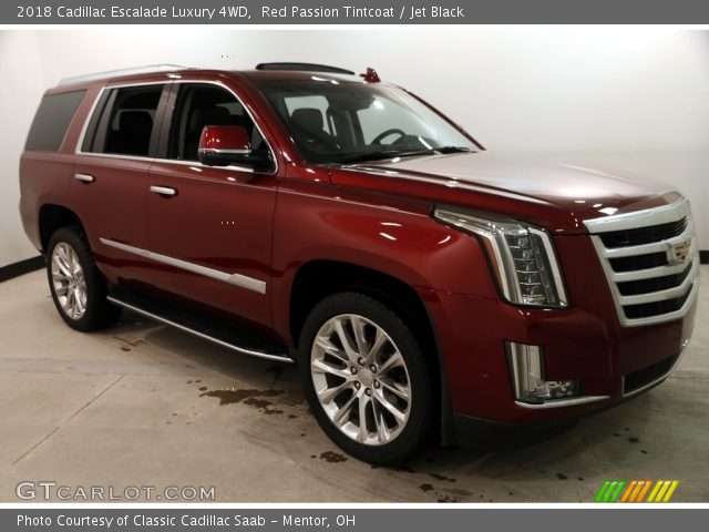2018 Cadillac Escalade Luxury 4WD in Red Passion Tintcoat