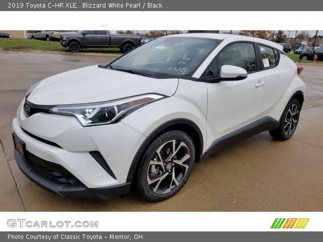 2019 Toyota C-HR XLE in Blizzard White Pearl