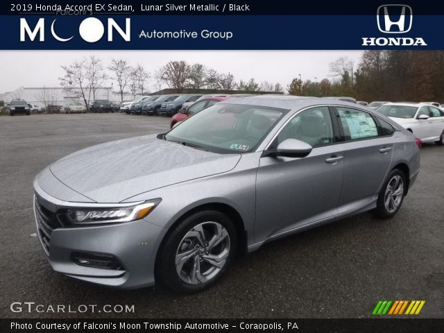2019 Honda Accord EX Sedan in Lunar Silver Metallic