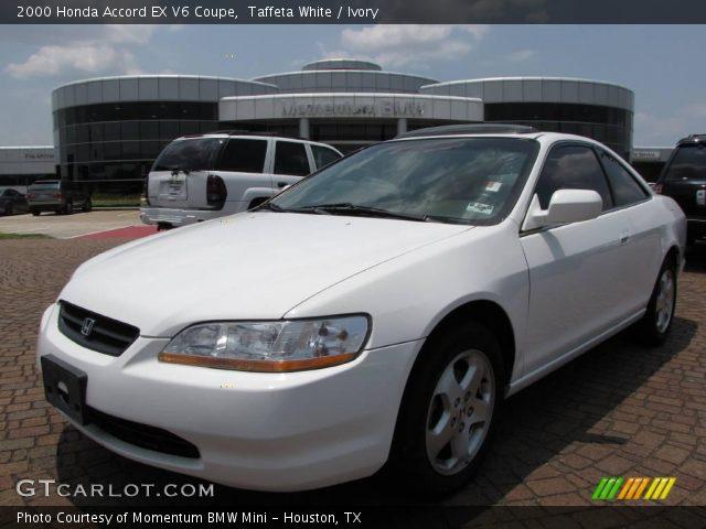 Taffeta White 2000 Honda Accord EX V6 Coupe Ivory