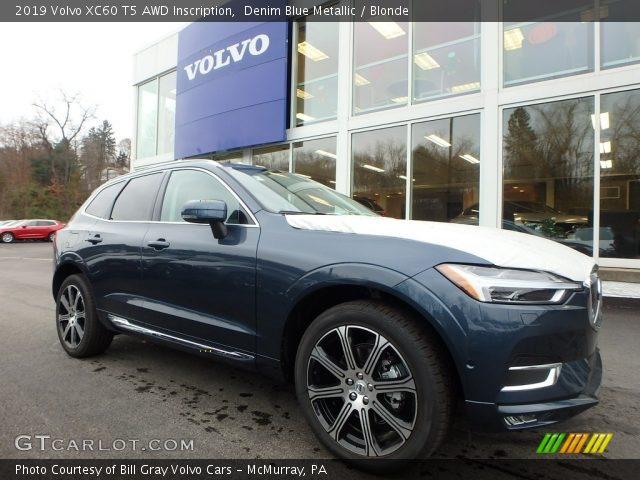 2019 Volvo XC60 T5 AWD Inscription in Denim Blue Metallic