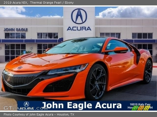 2019 Acura NSX  in Thermal Orange Pearl