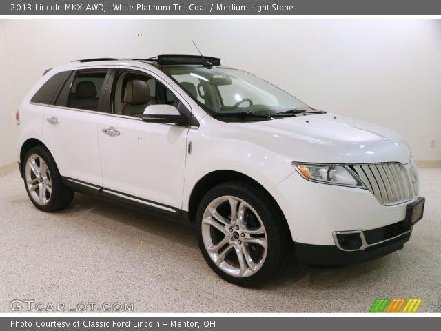 2013 Lincoln MKX AWD in White Platinum Tri-Coat