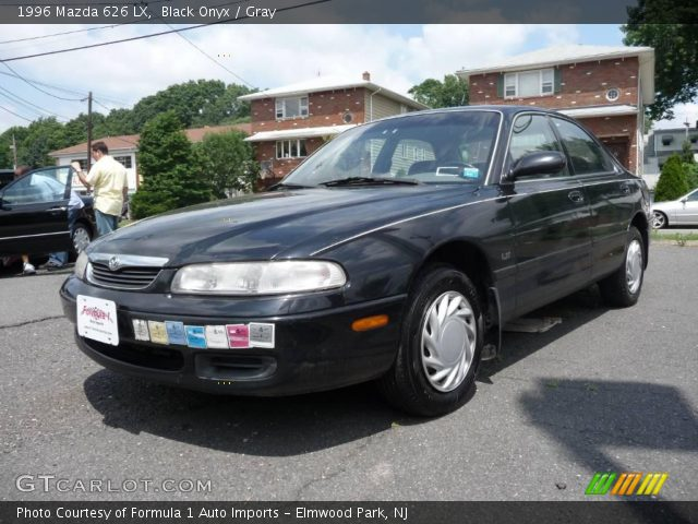 black onyx 1996 mazda 626 lx gray interior gtcarlot. Black Bedroom Furniture Sets. Home Design Ideas