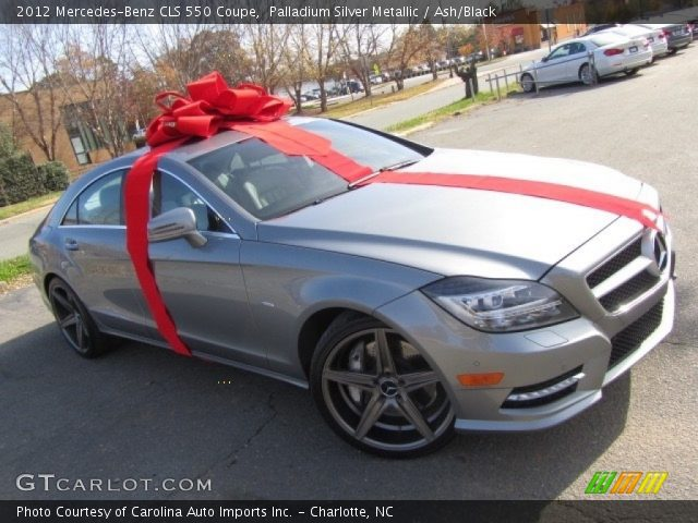 2012 Mercedes-Benz CLS 550 Coupe in Palladium Silver Metallic