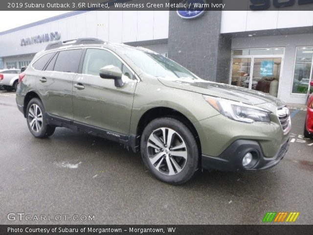 2019 Subaru Outback 3.6R Limited in Wilderness Green Metallic