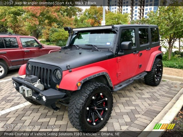 2017 Jeep Wrangler Unlimited Sport 4x4 in Black