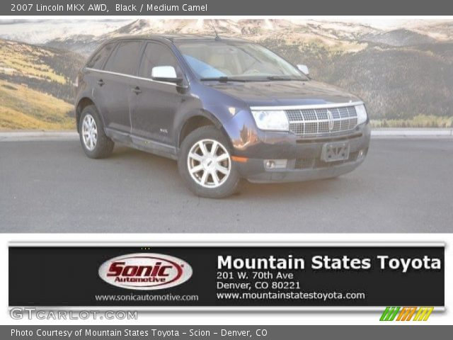 2007 Lincoln MKX AWD in Black