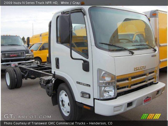 2009 Isuzu N Series Truck NPR HD in White