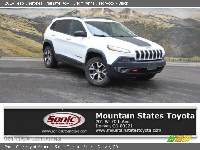 2014 Jeep Cherokee Trailhawk 4x4 in Bright White