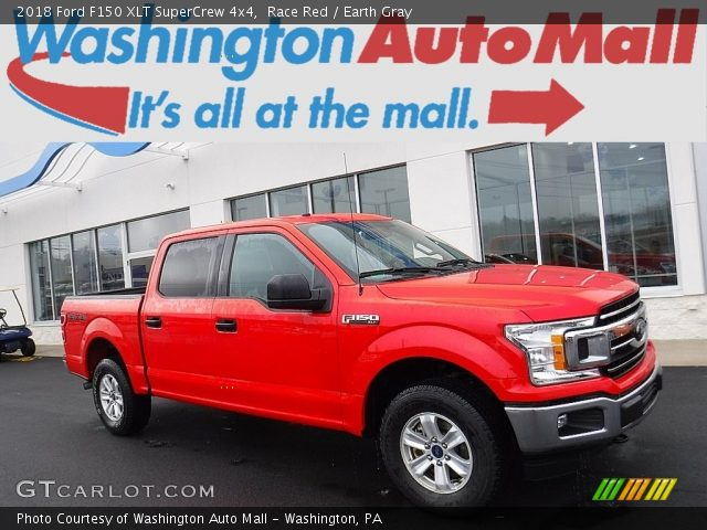 2018 Ford F150 XLT SuperCrew 4x4 in Race Red